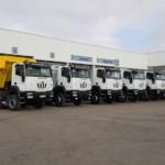 España se llena de camiones ASTRA de la mano de Talleres Fandos.