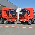Entrega de 2 tractoras ASTRA para 250Tn