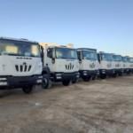20 camiones ASTRA HD9 64.38 con portacontenedores para Benin.